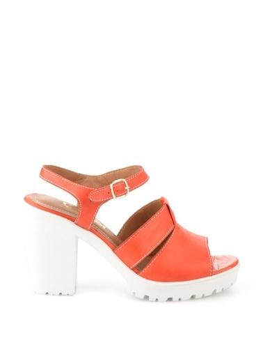 %100 Deri Sandalet-Bambi